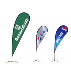 Strandflagga - Droppdesign