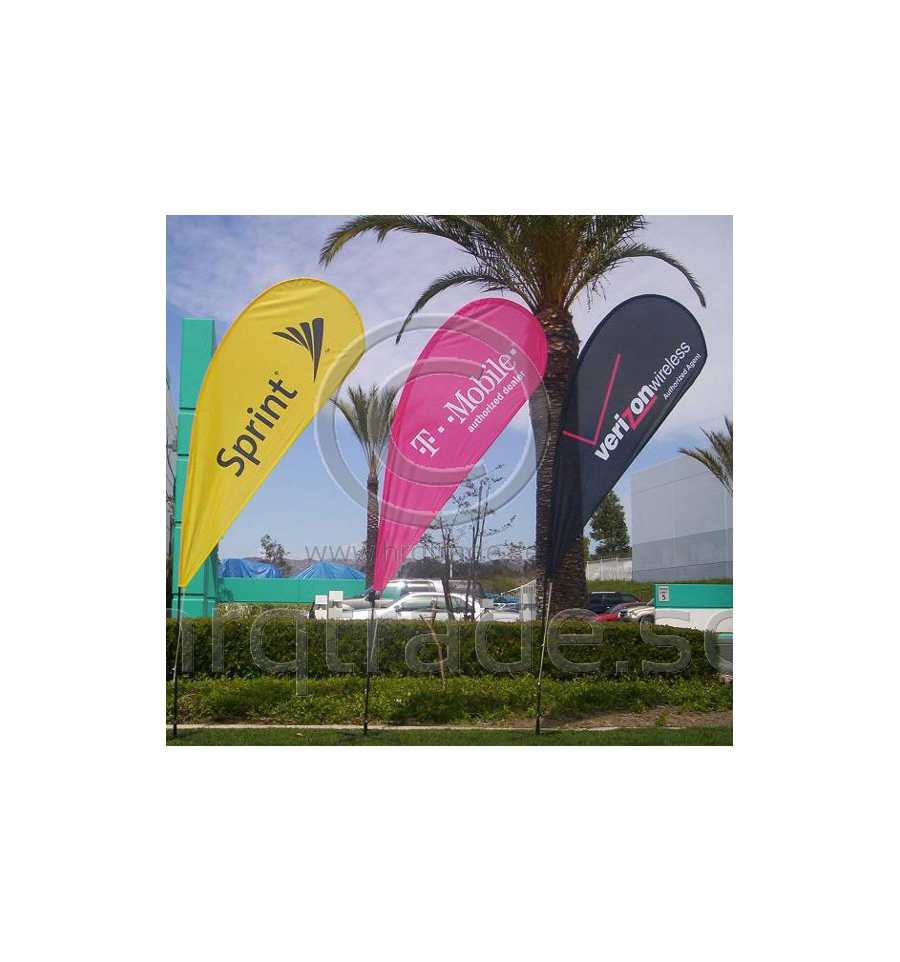 Beach Flag Drop Design Harlequin Trade Ab Hrqtrade Se