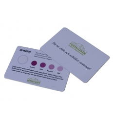 UV Card with print