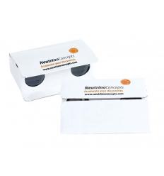 Paper binoculars with print
