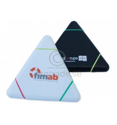 Triangulär överstrykningspenna