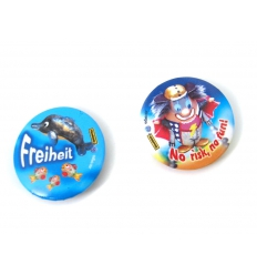 Badges with print