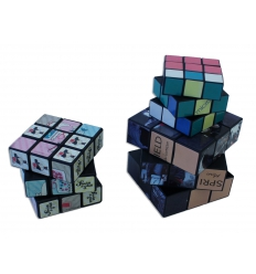 Rubik's cube with logo