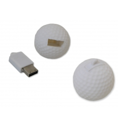 USB flash drive - Golfball - for promotional and retail