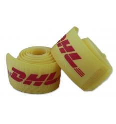 Ski strap with velcro