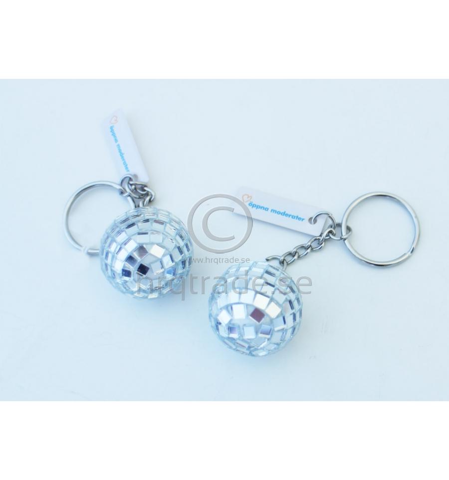 Nyckelring - Disco - Import   tillverkning för promotion c4afb1420860f