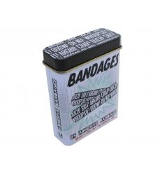 Bandaid in tin