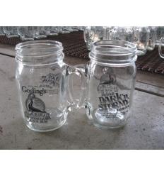 Drink jar with handle