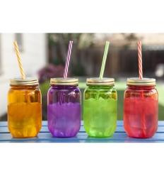 Smoothie jar - plastic