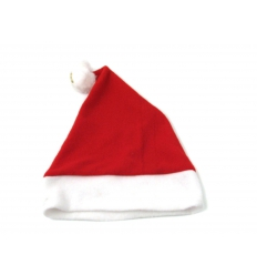 Santa hat with print