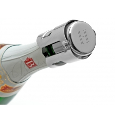 Champagne-stoppare med gravyr