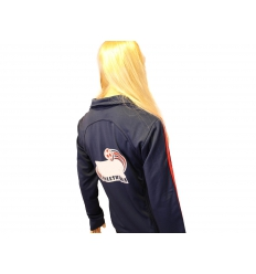 Training jacket with print