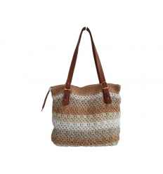 Knitted handbag
