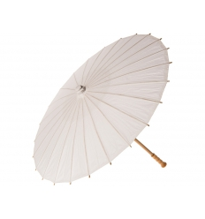 Paper parasol with print