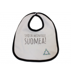 Bib with print - Ecological Cotton