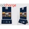 AdCharge - Laddstation med reklam