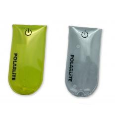 Reflex med tryck - Clip-on med LED-ljus