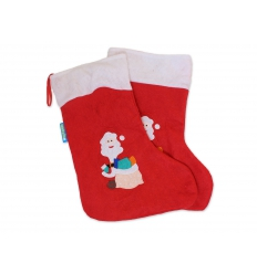 Christmas sock with print