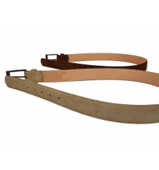 Belt - suede