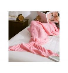 Sjöjungfrufilt - Mermaid blanket