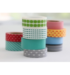 Washi tape med tryck