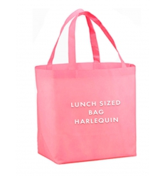 Pink lunch bag