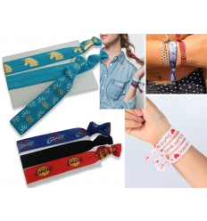 Arm and hair-band - Yoga band with print