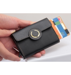 Cardholder with logo - RFID protected