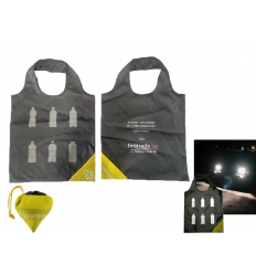 Kasse med reflextryck - Reflekterande