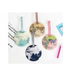 Bagagebricka - Världskarta