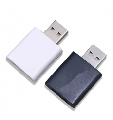 USB shield with print