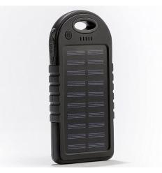 Powerbank med solcellsladdning