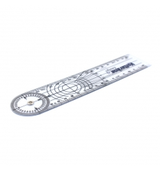 Goniometer with print.