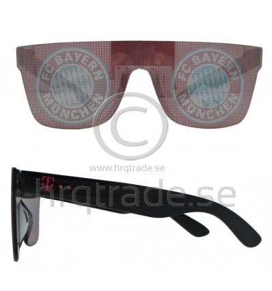 Solglasögon med tryckt lins