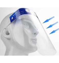 Ansiktsvisir - Medicinskt bruk
