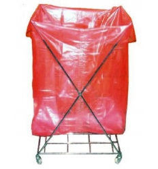 Water soluable plastic laundry bag