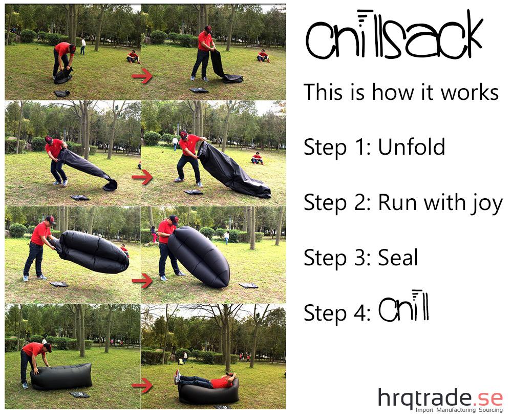 Chillsack - Så fungerar det