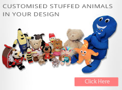 Customised stuffed animals