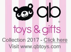 Plush animals - QB Toys - Collection 2015